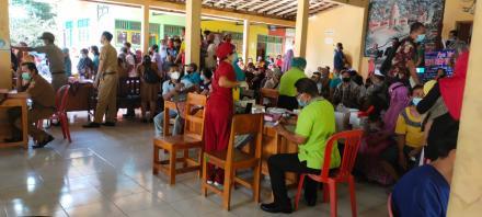 Vaksinasi Covid-19 di Desa Musi Gelombang II